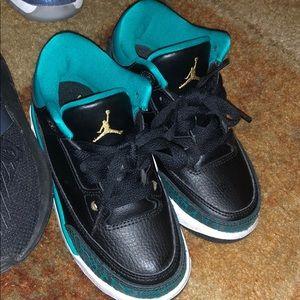 Jordan Shoes - 3 Pair Kids Shoes Lot Adidas Jordan